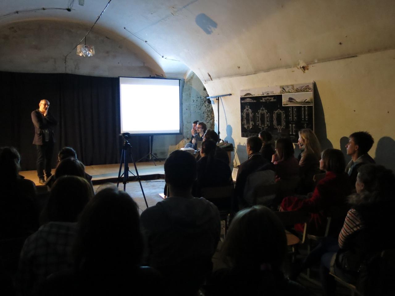 ASK director Krzysztof Koszewski lecture in Brzesc, Belarus