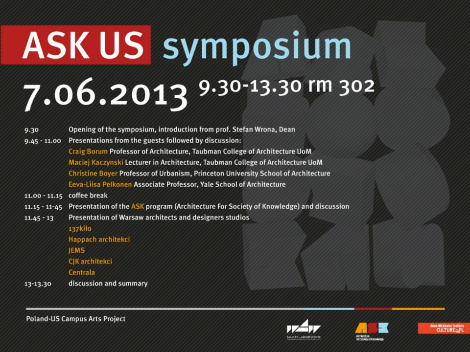 ASK-US symposium