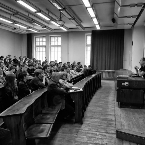 Lecture by Branko Koralevic