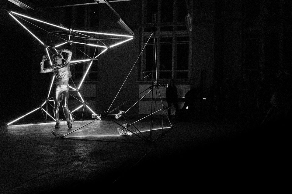 Modular Light Cloud and 'Glow' performance Opening Show