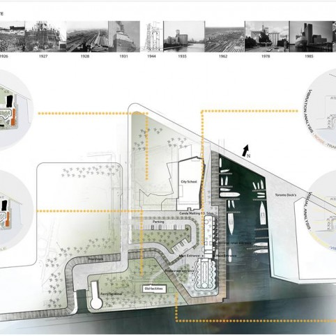 Masters of architecture thesis project