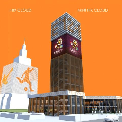 E12′ Tower, Fan zone info centre
